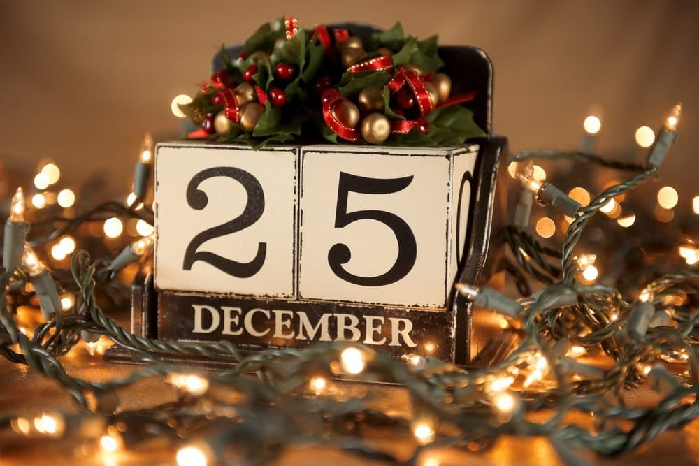 25th December - Christmas Day
