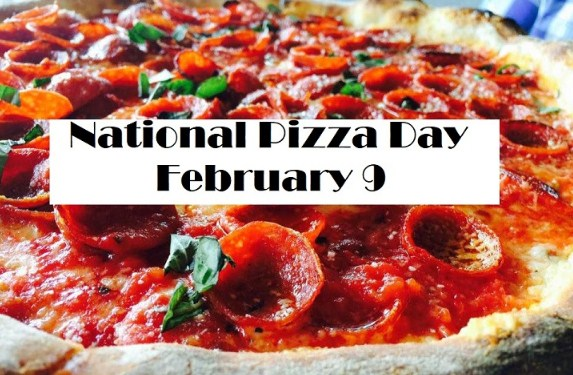 9th February - National Pizza Day