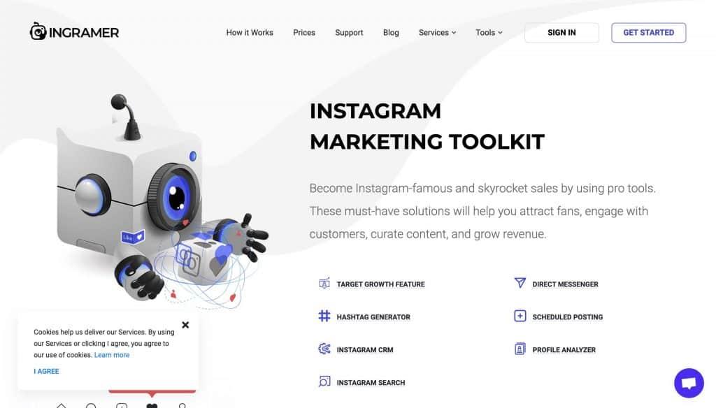 Ingramer - hashtag tools