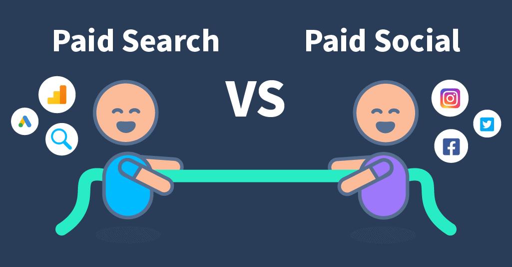 paid search vs paid social
