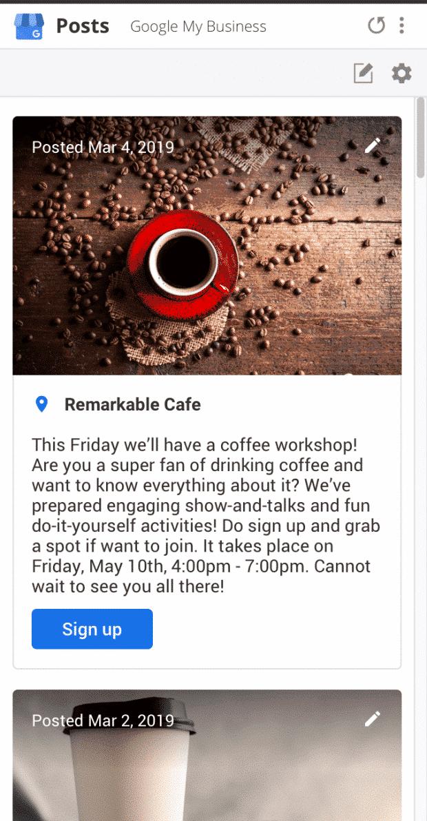 remarkable cafe