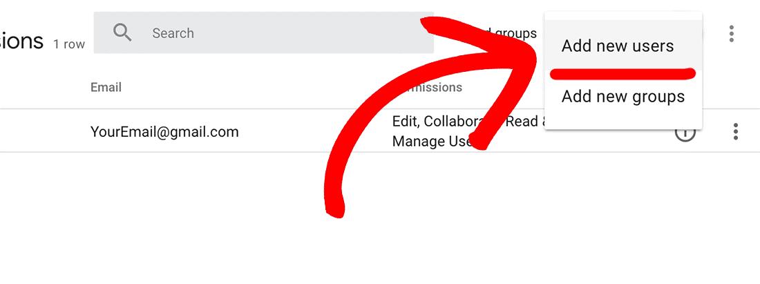 Add new users