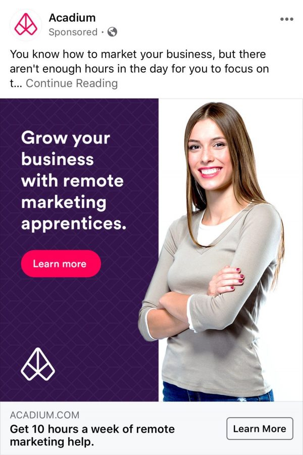 Educational advertisements