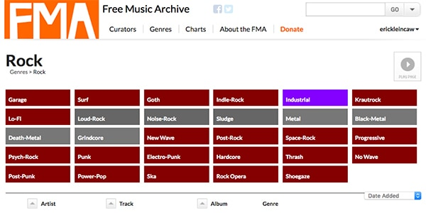 Free Music Archive(Best Places to Find Background Music)