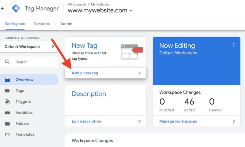 Incorporate analytics with Google Tag Manager