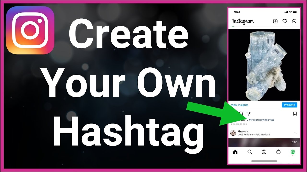Introduce your own hashtag