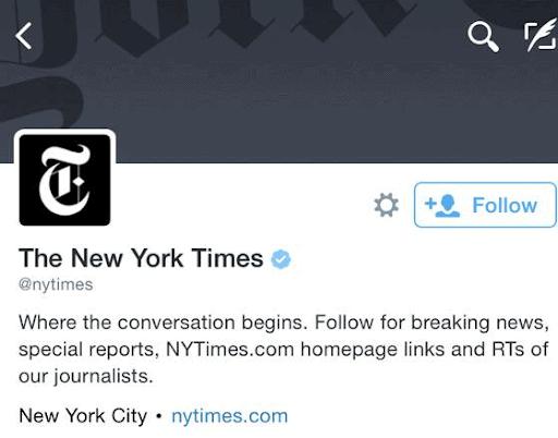 NYT Twitter
