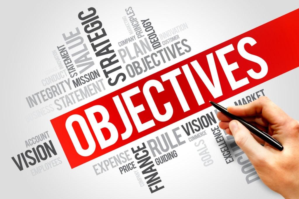 Set the marketing objective