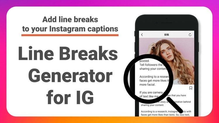 Using Line Break Generator