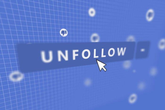 Unfollow Annoying People on Facebook