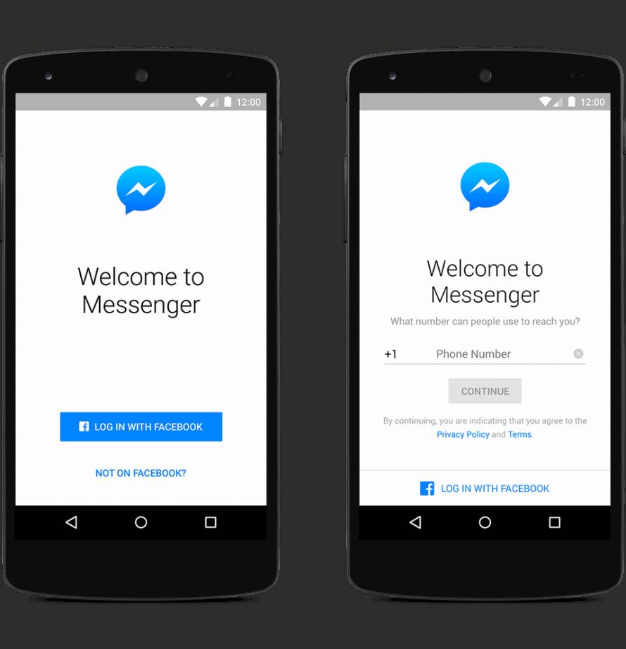open messenger login