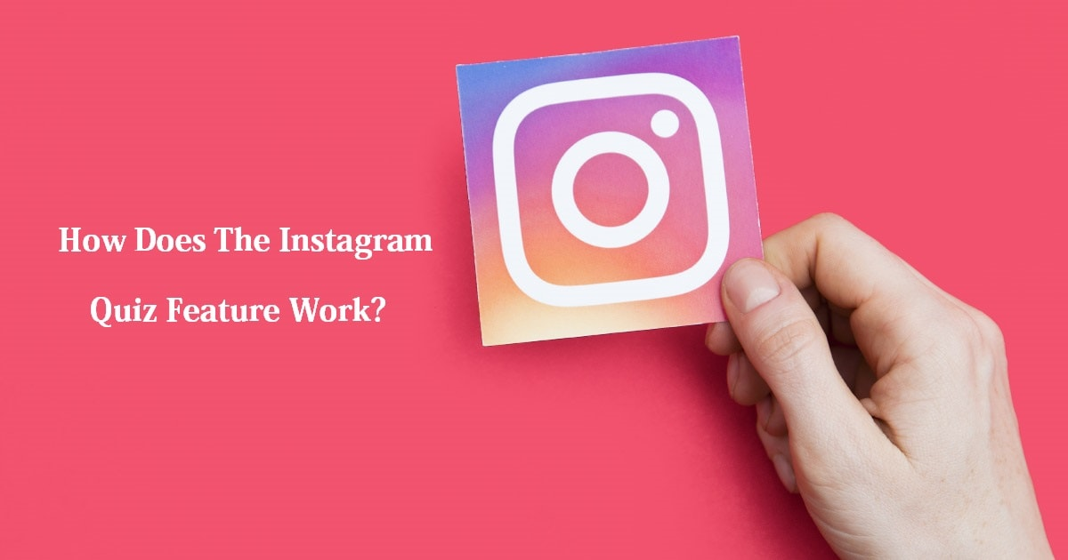 How does the Instagram Quiz feature work