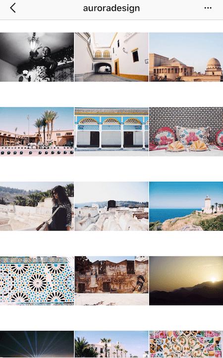 Rectangle instagram theme